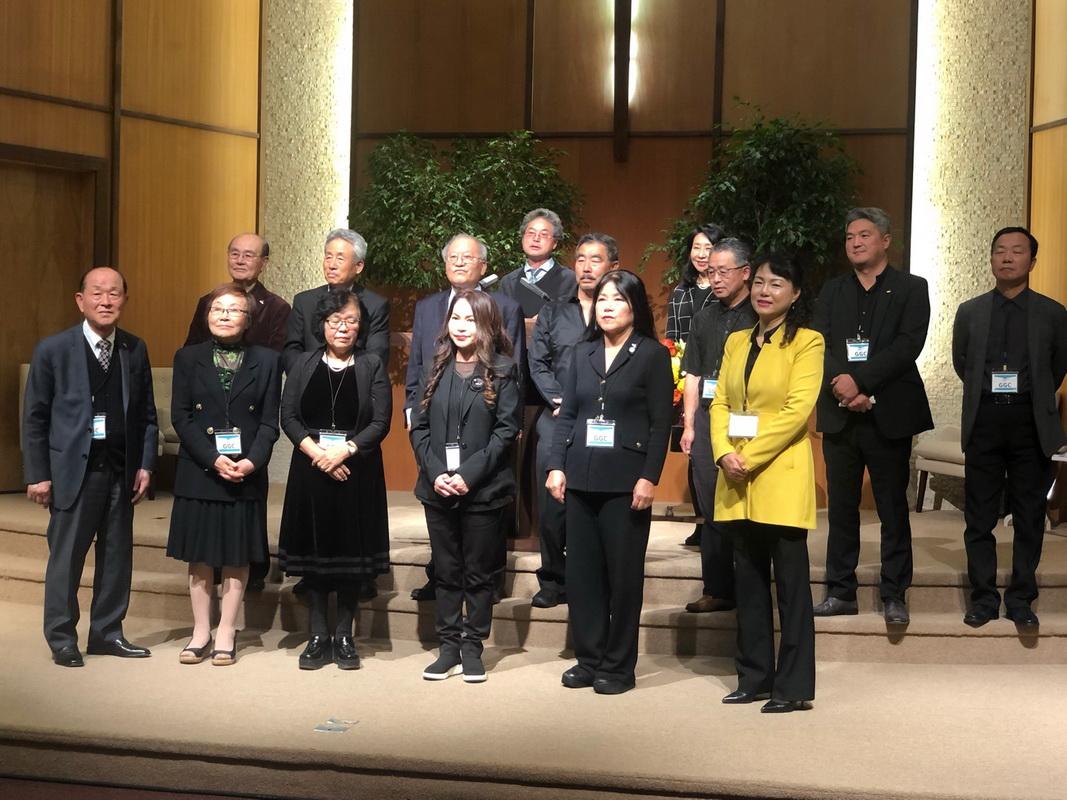 북가주 소속 골들게이트 지회창립 10주년 기념축하 행사