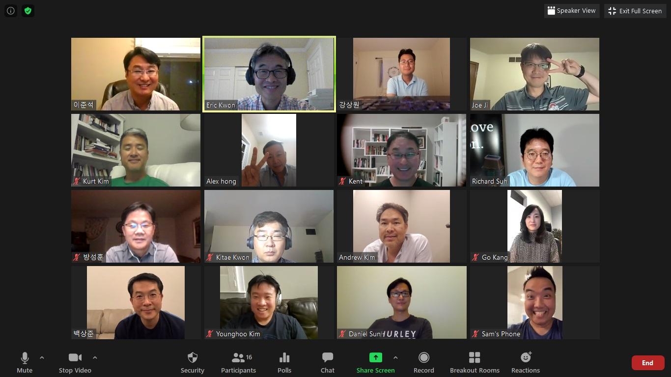 yCBMC 연합회 리더십 ZOOM 기도회 및 사역 나눔 모임