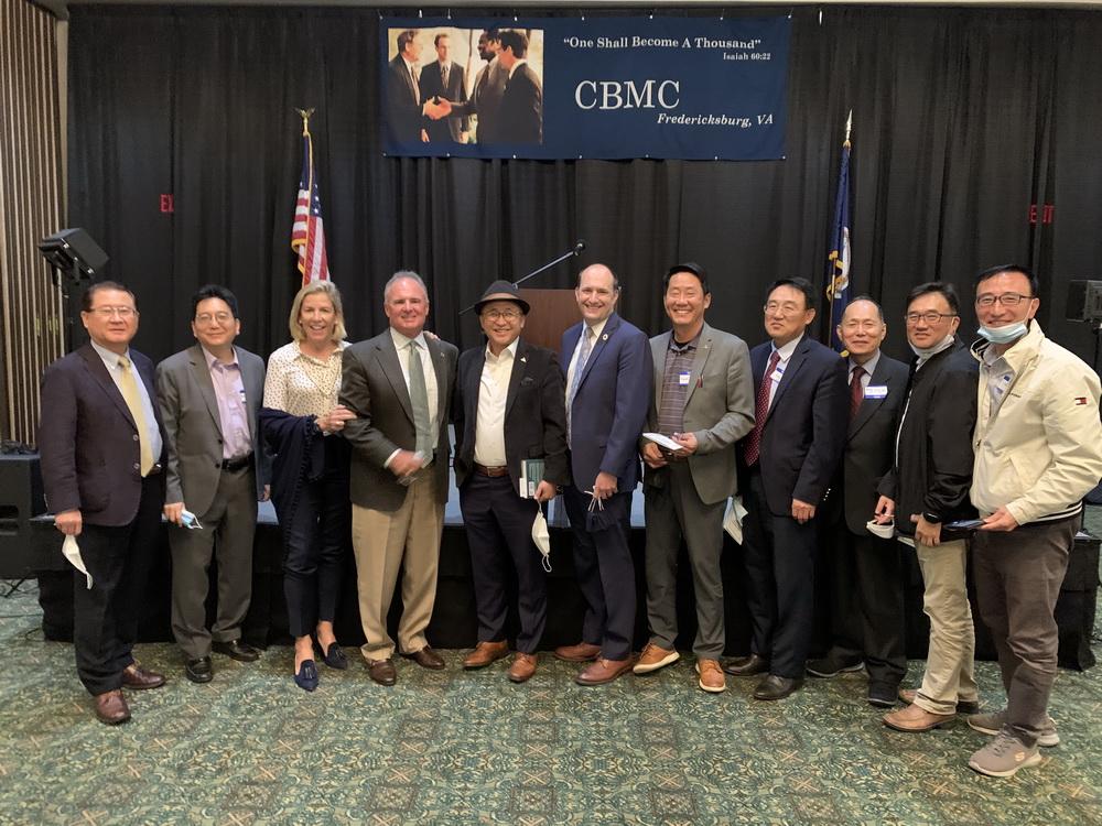 워싱턴 DC 지회 CBMC-USA 버지니아 지역 리더십 조찬 초정 만찬 참석